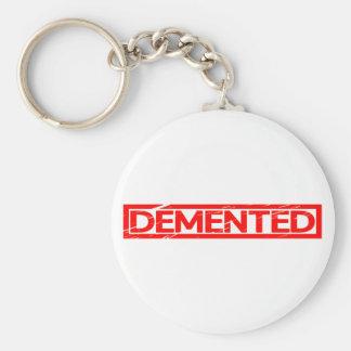 Demented Stamp Keychain