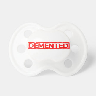 Demented Stamp Pacifier