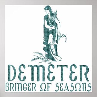 Demeter Poster
