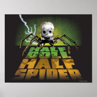 Demi d'araignée de demi de poupée poster