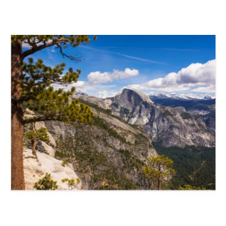 Demi de paysage de dôme, la Californie Carte Postale