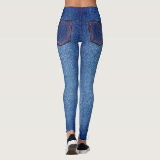 Demin Style Leggings