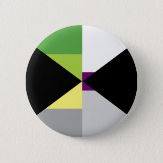 Demiromantic Demisexual Pin
