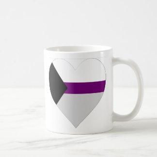 """Demisexual Heart"" Mug"