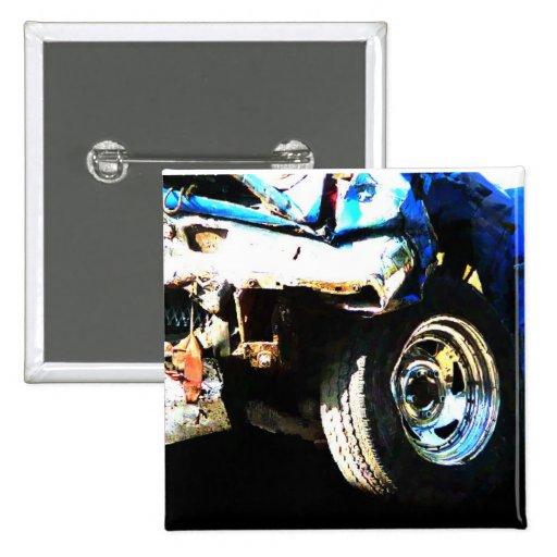 Demo Derby Car Pin