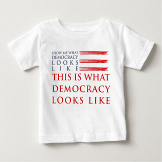 Democracy Baby Jersey T-Shirt