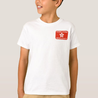 Democracy Hong Kong Flag T-Shirt