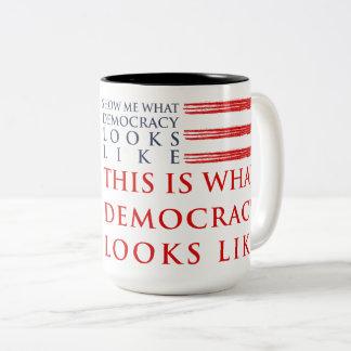 Democracy Large Mug