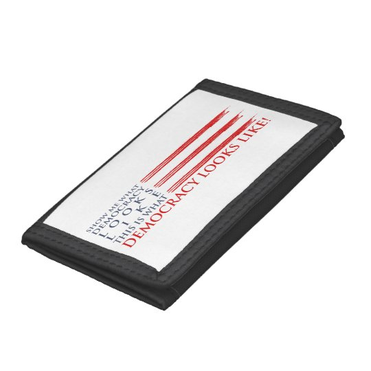 Democracy Tri-fold Wallet