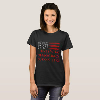 Democracy Women's Basic Dark T-Shirt