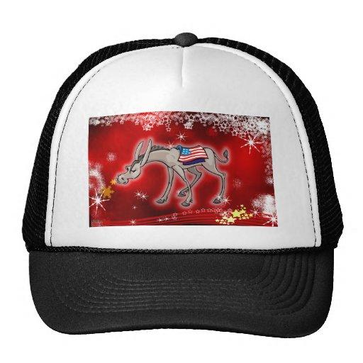 Democrat Christmas Trucker Hat