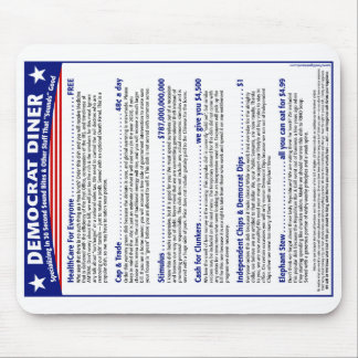 Democrat Diner Mouse Pad