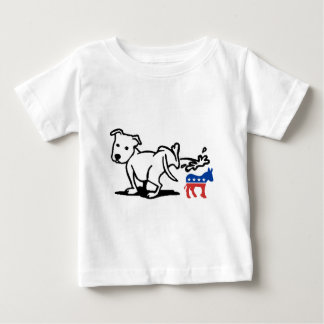 Democrat Dog Baby T-Shirt