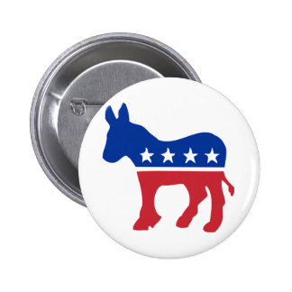 Democrat Donkey Buttons