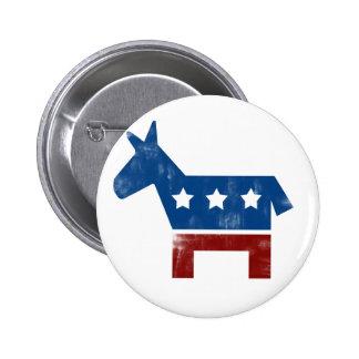 Democrat Donkey logo Pin