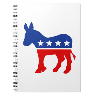 Democrat Donkey Notebook