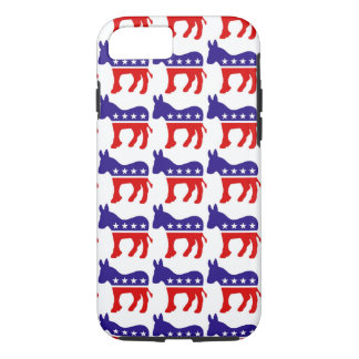 Democrat Donkey Pattern iPhone 7 Case