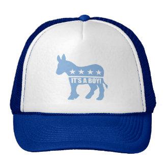 democrat it's a boy caps hat