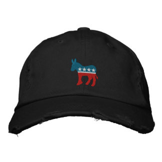 Democrat Logo Embroidered Hat