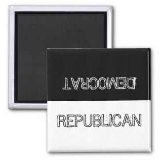 Democrat or Republican? Magnet