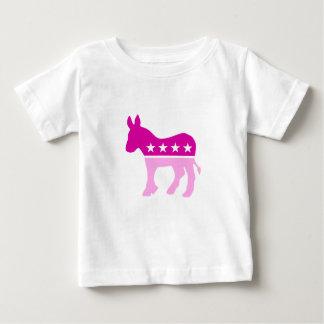 Democrat Original Donkey Pink Baby T-Shirt
