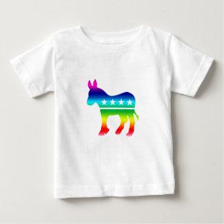 Democrat Original Donkey Rainbow Baby T-Shirt