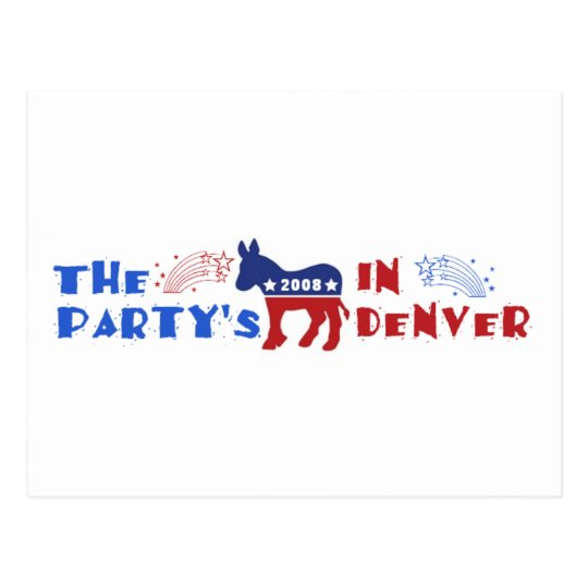 Democratic Convention Denver 2008 Cards DNC