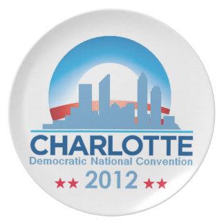 Democratic Convention Plate