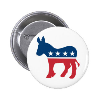 Democratic Donkey 2 Inch Round Button