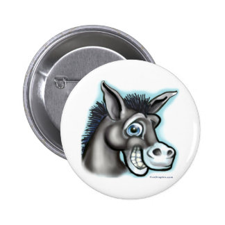 Democratic Donkey Buttons