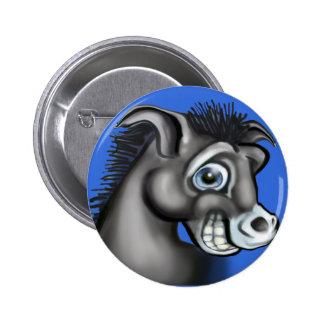 Democratic Donkey Button