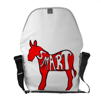 Democratic Donkey Courier Bags
