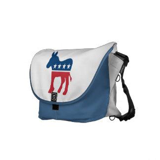 Democratic Donkey Messenger Bags