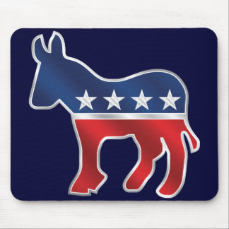 Democratic Donkey Mousepad
