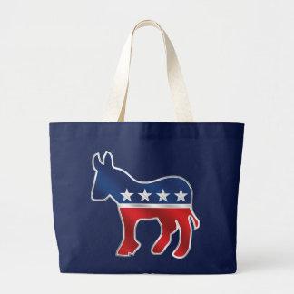 Democratic Donkey Tote Bag