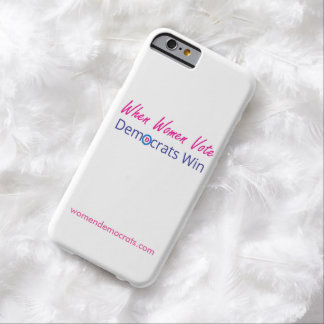 Democratic iPhone Case Barely There iPhone 6 Case