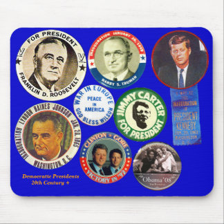 Democratic Presidents - Mousepad