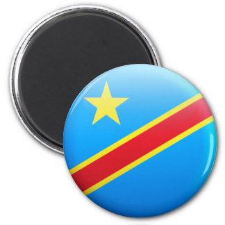 Democratic Republic of Congo Flag Magnet