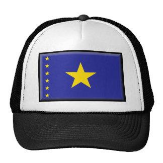 Democratic Republic of the Congo Flag Trucker Hats