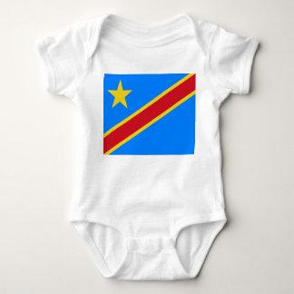 Democratic Republic of the Congo World Flag Baby Bodysuit