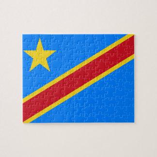 Democratic Republic of the Congo World Flag Puzzle