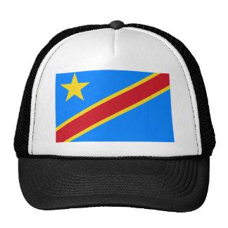 Democratic Republic of the Congo World Flag Trucker Hat