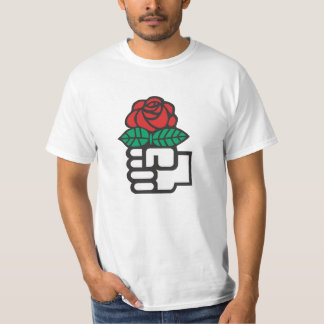 Democratic Socialism (The Fist and Rose Symbol) T-Shirt