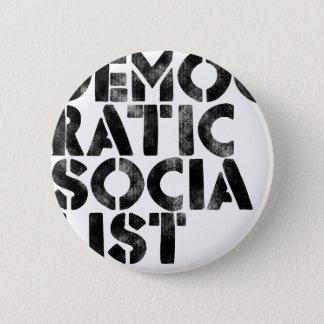 Democratic Socialist 2 Inch Round Button