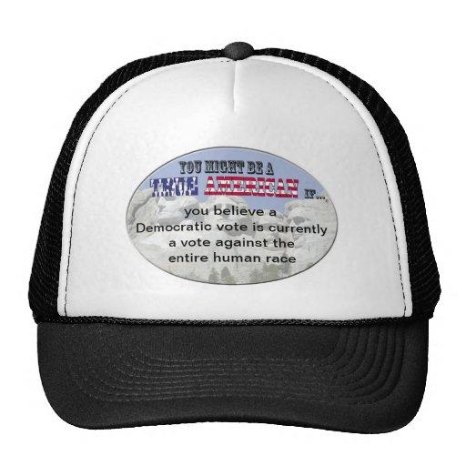 democratic vote mesh hat