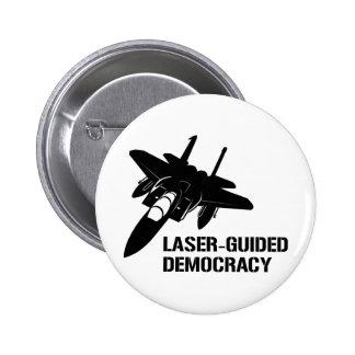 Démocratie/paix à guidage laser par la puissance d badges