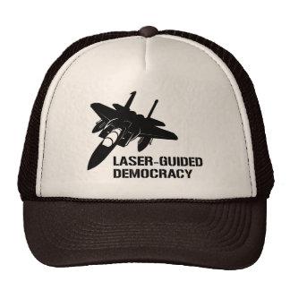 Démocratie/paix à guidage laser par la puissance d casquette