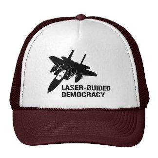 Démocratie paix à guidage laser par la puissance d casquettes