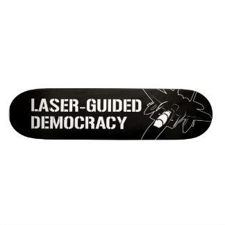 Démocratie/paix à guidage laser par la puissance d plateau de planche à roulettes