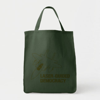 Démocratie/paix à guidage laser par la puissance d sacs fourre-tout